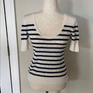 Nanette Lepore embellished sweater